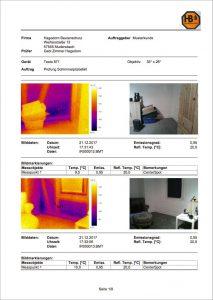 Hagedorn Bautenschutz Bauthermografie Beispiel Bericht